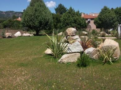 jardin piscine residence corse
