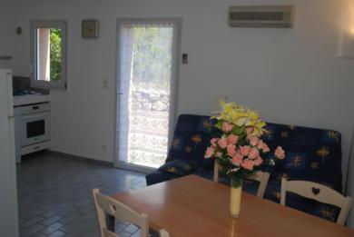 séjour villa Lecci