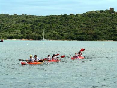 canoe-kayak mer mediterranee corse
