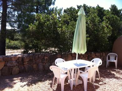 jardin hebergement 5 personnes Saint Cyprien